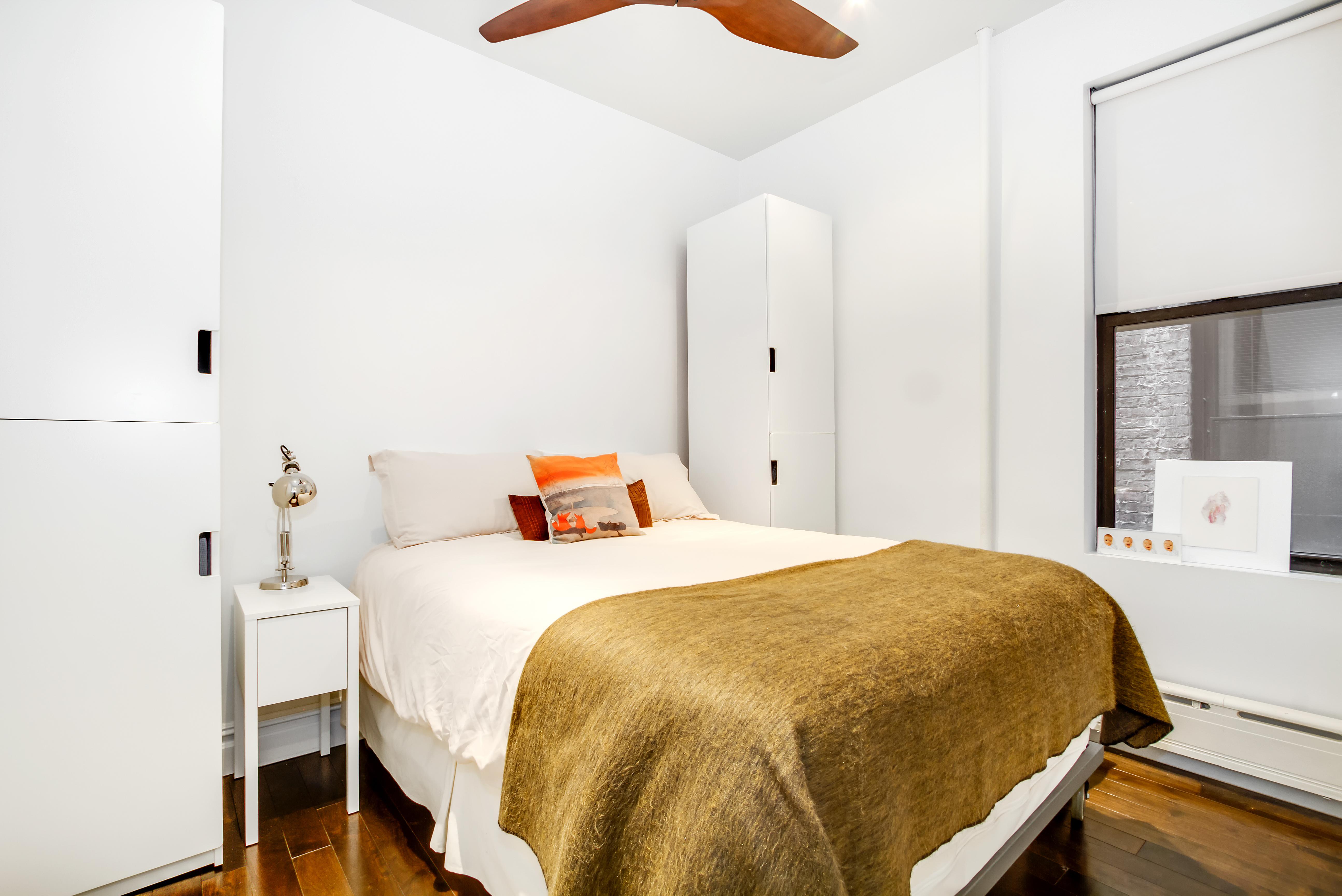 404 3rd Street, master bedroom, renovation, park slope, co-op