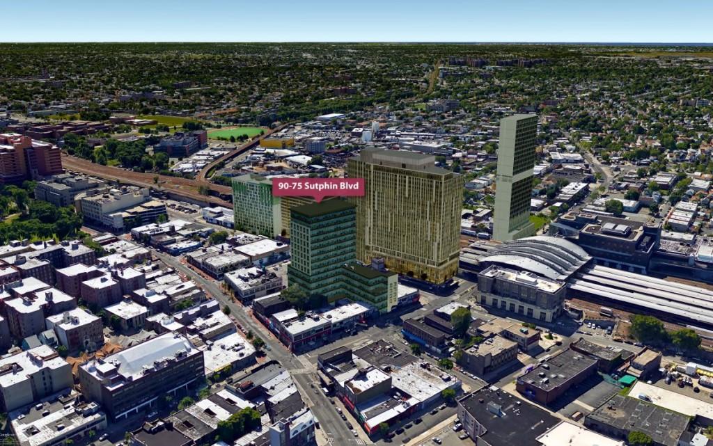 Jamaica rendering, Future Jamaica, Queens developments