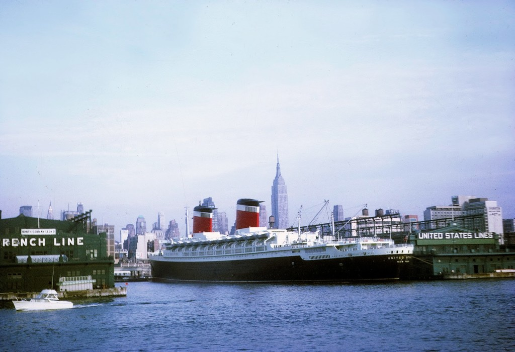 Ss united states at sea (paul mcgehee)