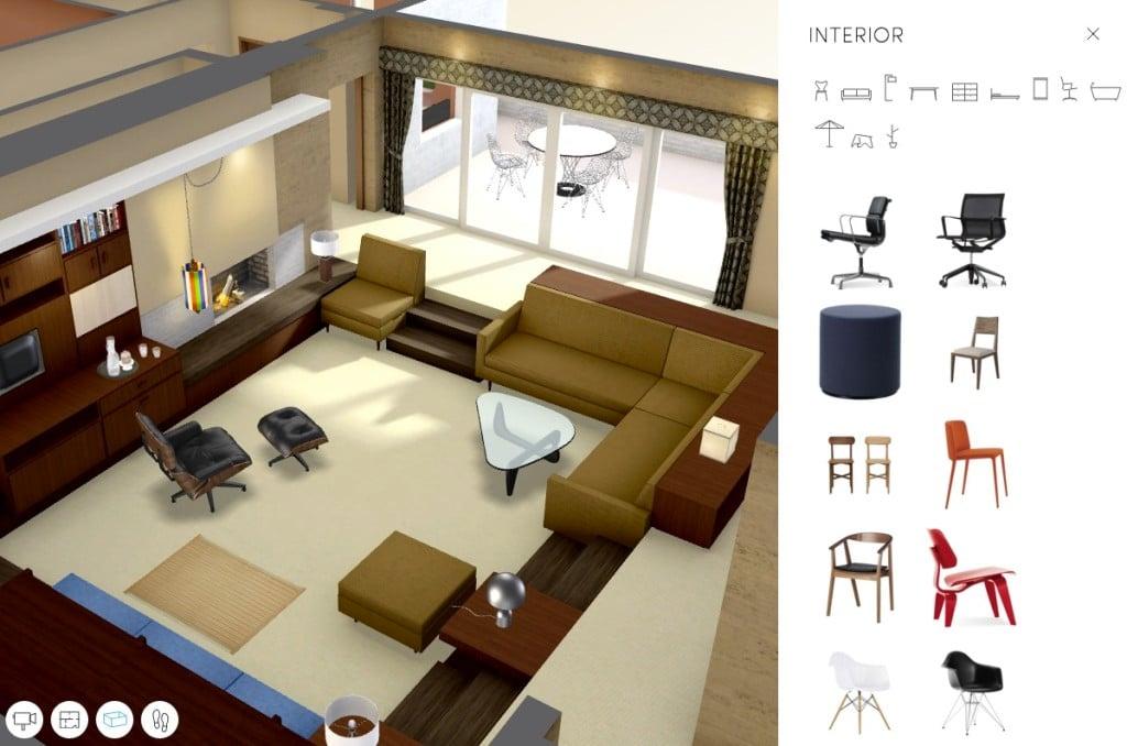 Don Draper apartment-virtual tour-1