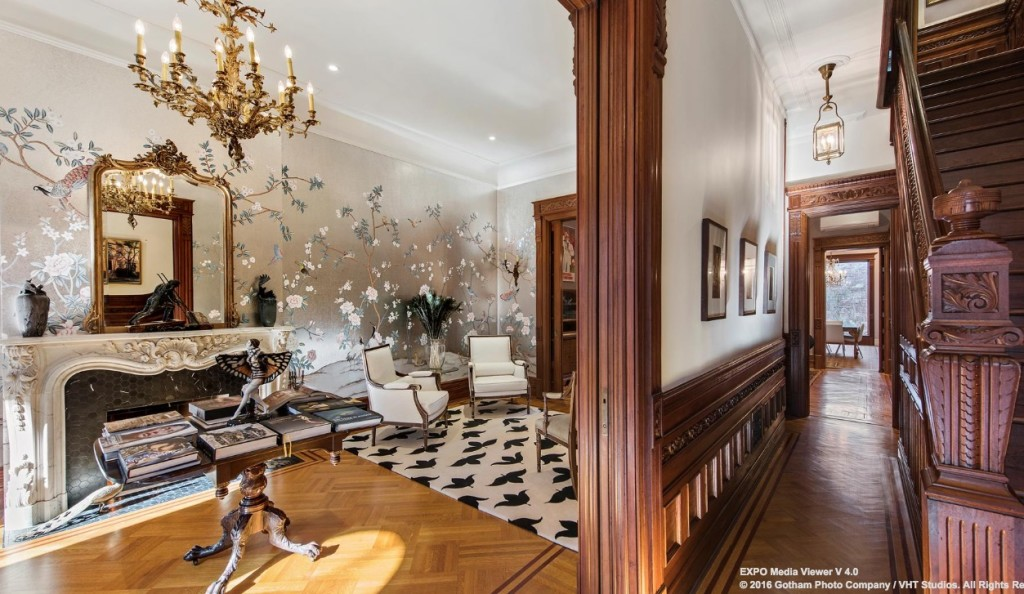 8m park slope brownstone is historic and luxurious with a professional grade gym 6sqft Brooklyn brownstone interior