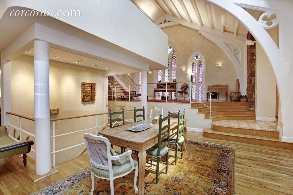 99 clinton street, brooklyn heights , dining room, rental