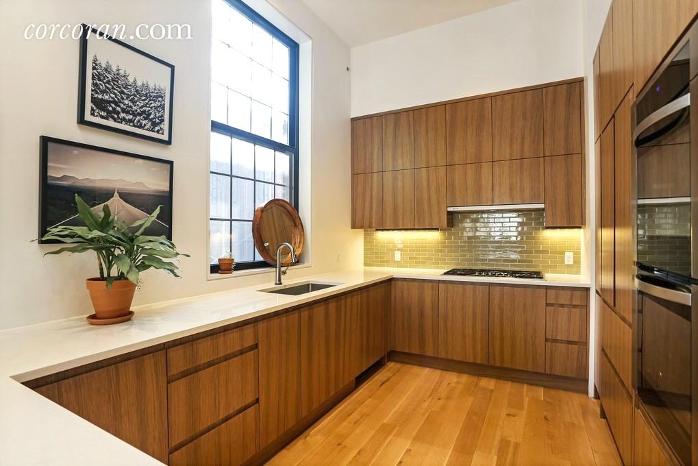 541 Leonard Street, kitchen, williamsburg, condo