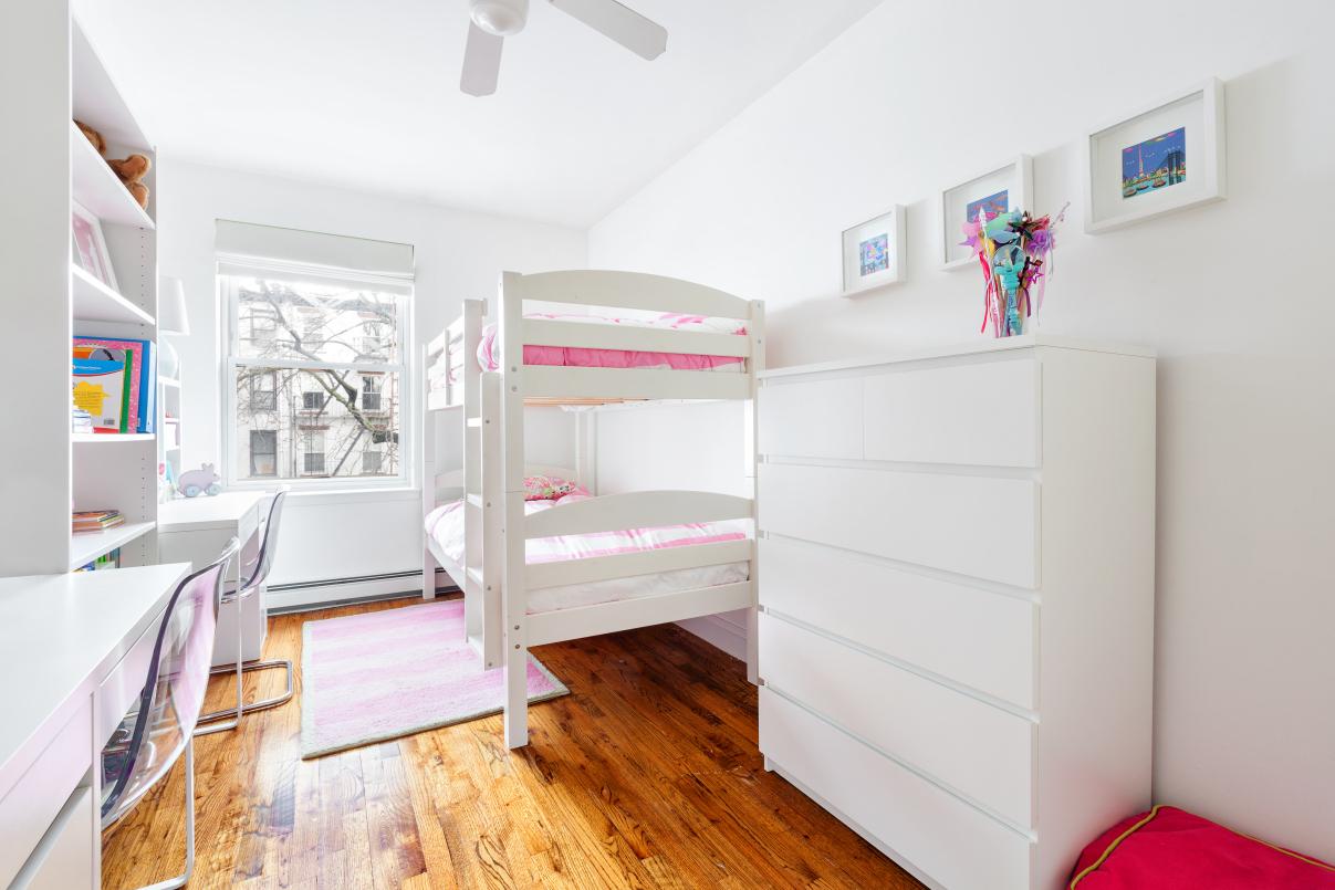 188 degraw street, bedroom, second bedroom, renovation
