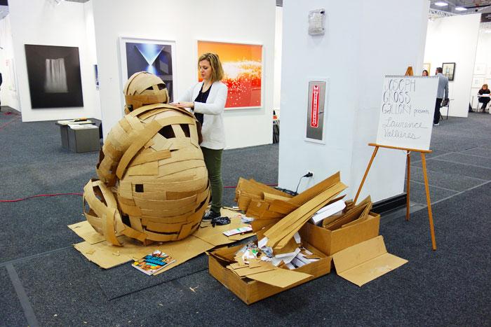 Lori Zimmer, Laurence Vallières, art nerd new york, art on paper,