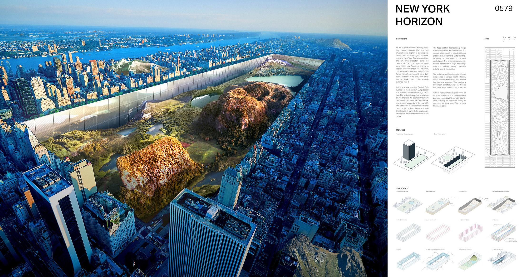 New York Horizon skyscraper, evolo competition winner 2016