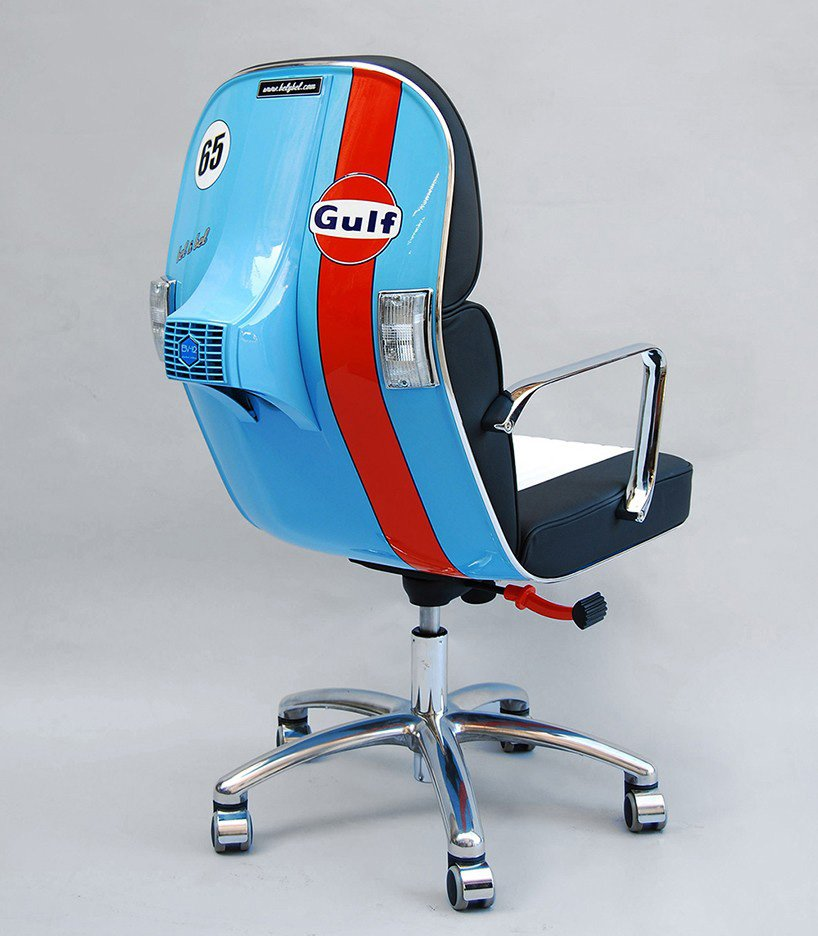 vespa office chair, bel & bel