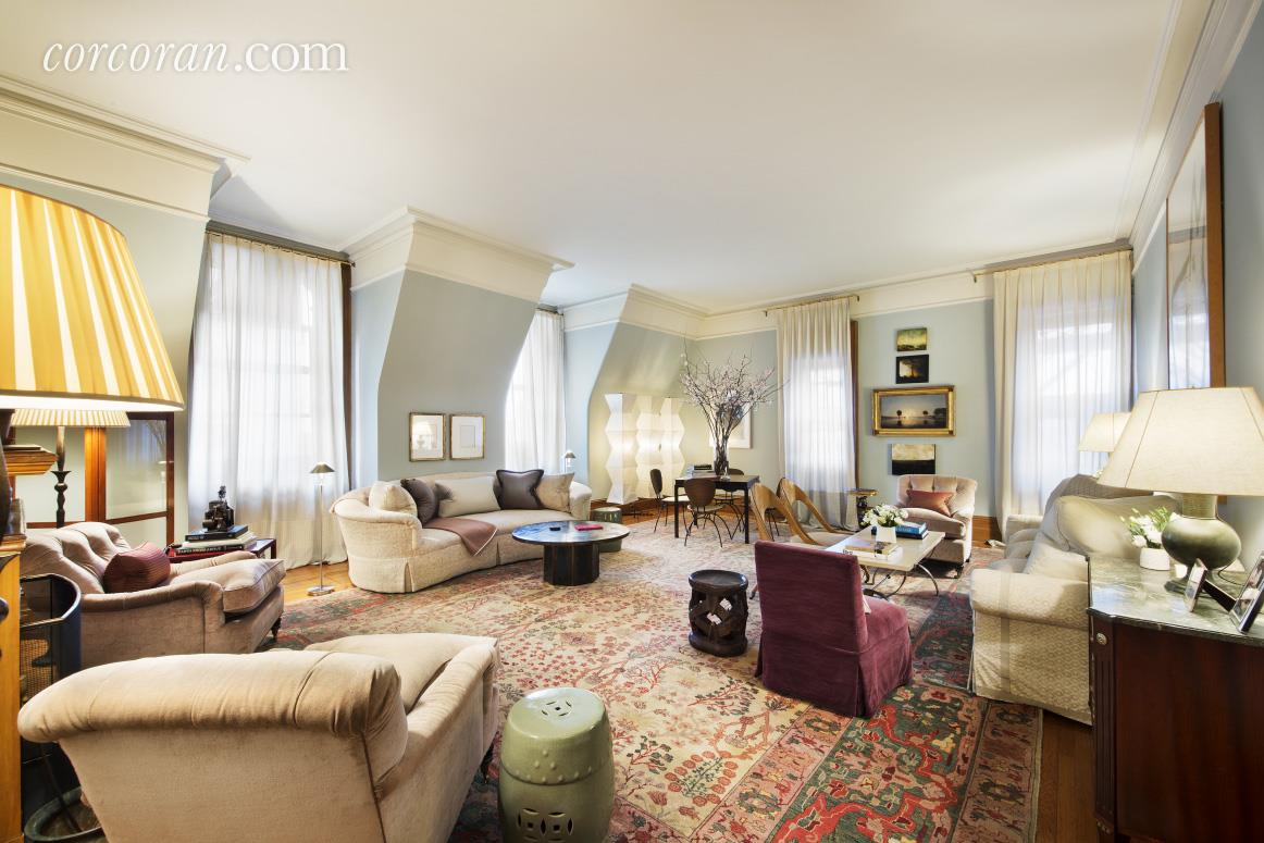 1 west 72nd street, the dakota, living room, co-op