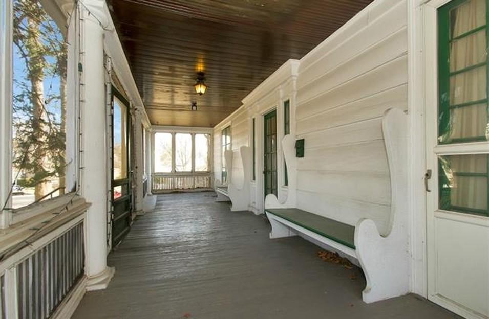 9 Meadow Lane Lou Gehrig Home Porch 1