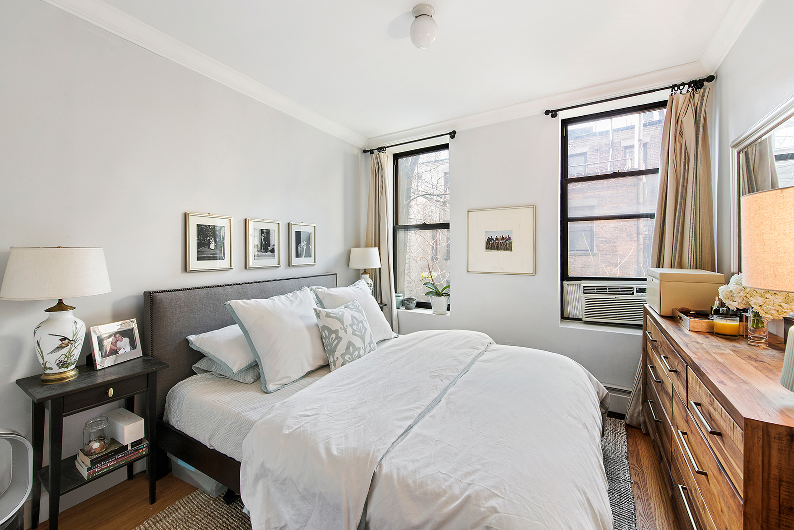 118 West 112th Street, master bedroom, condo
