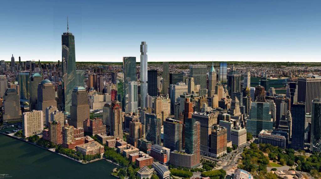 125 Greenwich Street, Rafael Viñoly Architects, supertalls, downtown new york's tallest buildings, downtown new york supertalls