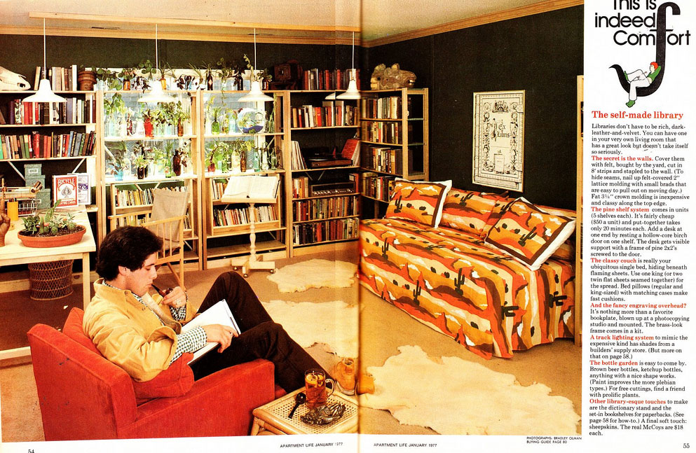 Go inside the trippy apartments of 1970s urban dwellers for Interior design 70s house