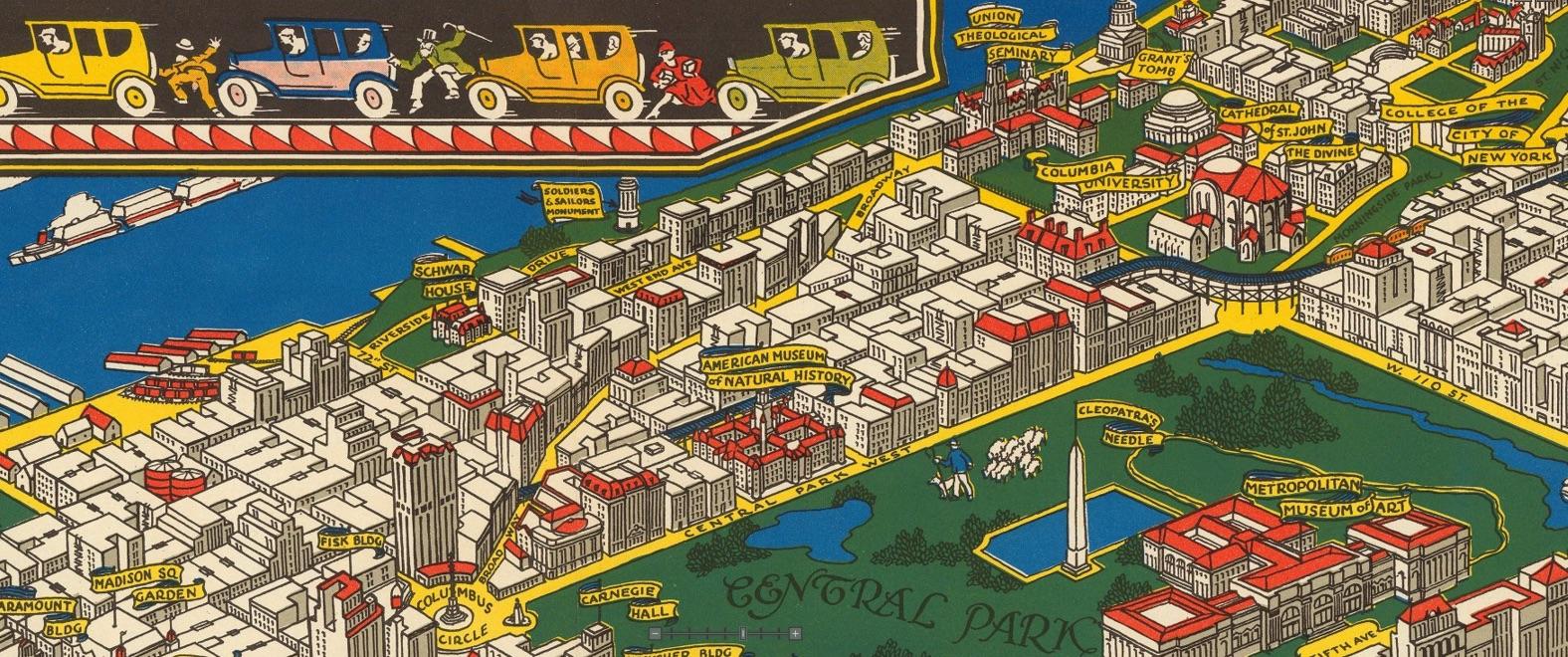 Map, Historic Map, 1926, C.V. Farrow, historic illustration, historic drawing