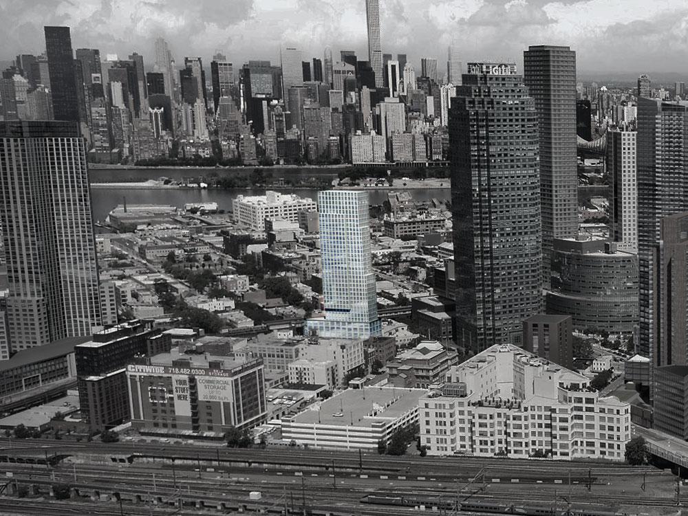 LIC Developments, NYC skyline