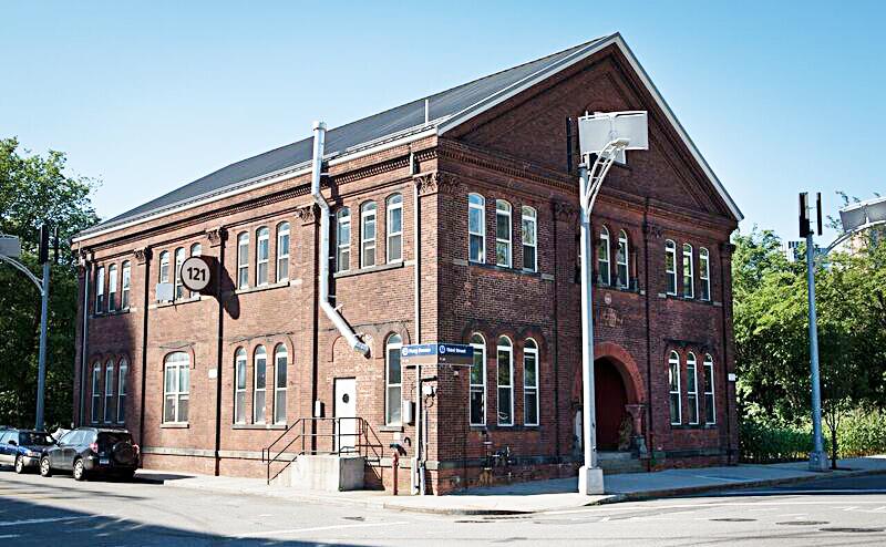 Paymaster Building, Brooklyn Navy Yard, Kings County Distillery