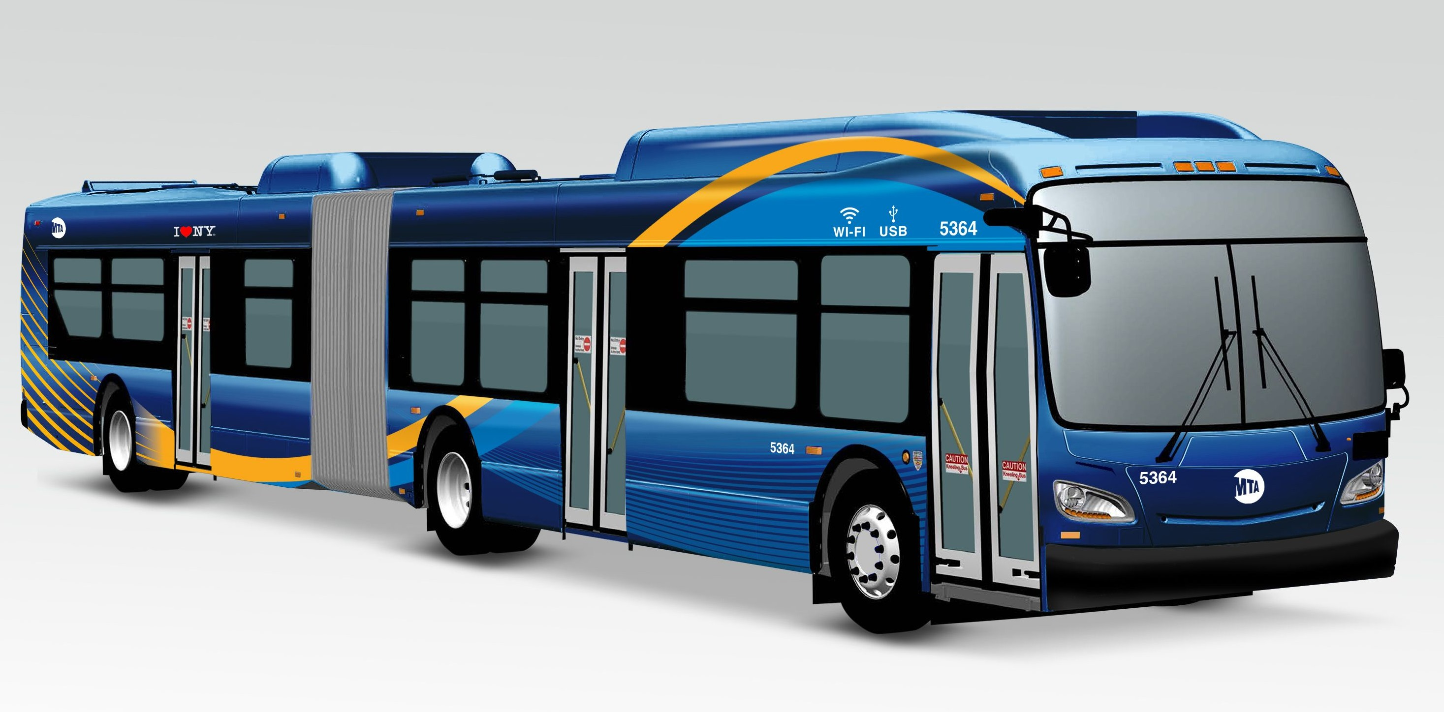new MTA bus, Governor Cuomo, NYC buses, transportation technology