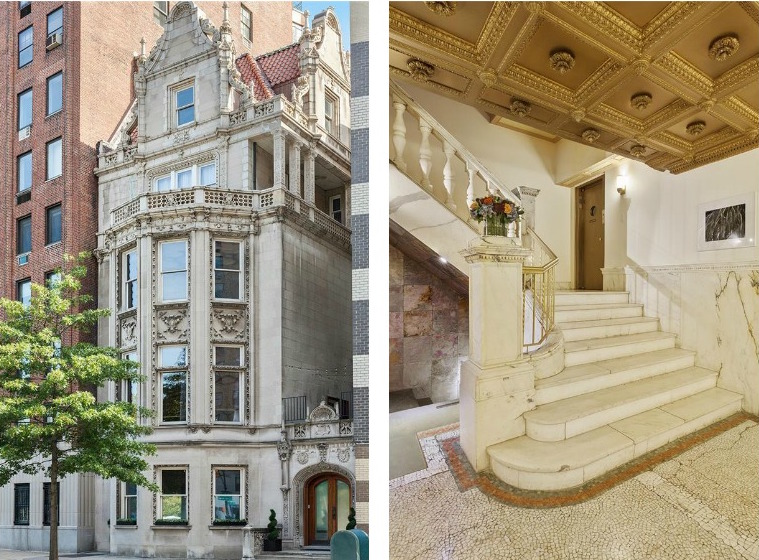 3 Riverside Drive Facade and Entry Stairs