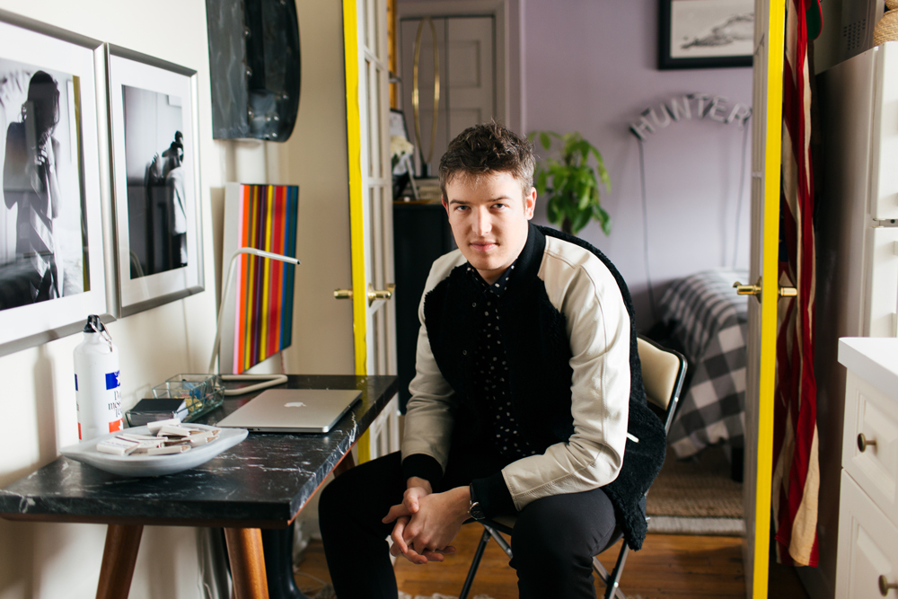 Dustin O'neal tiny lower east side apartment