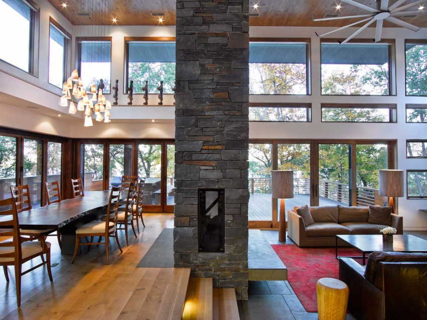 RiverBanks House, Foz Design, hudson valley,