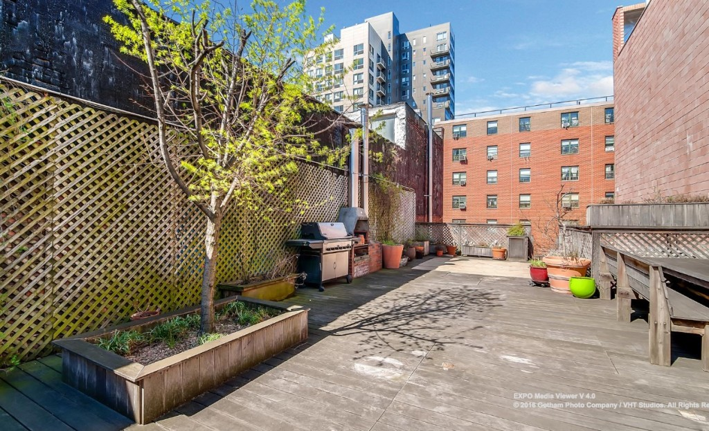 M LES Carriage House With a Waterfall Was Once the Home of a     Eldridge Street  Lower East Side  Townhouse  Carriage House  Cool listing