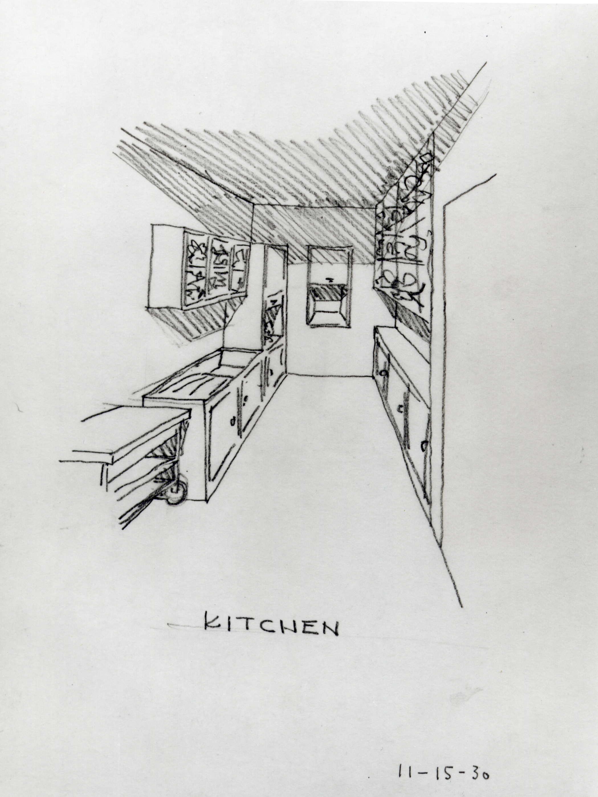 Aluminaire House Kitchen