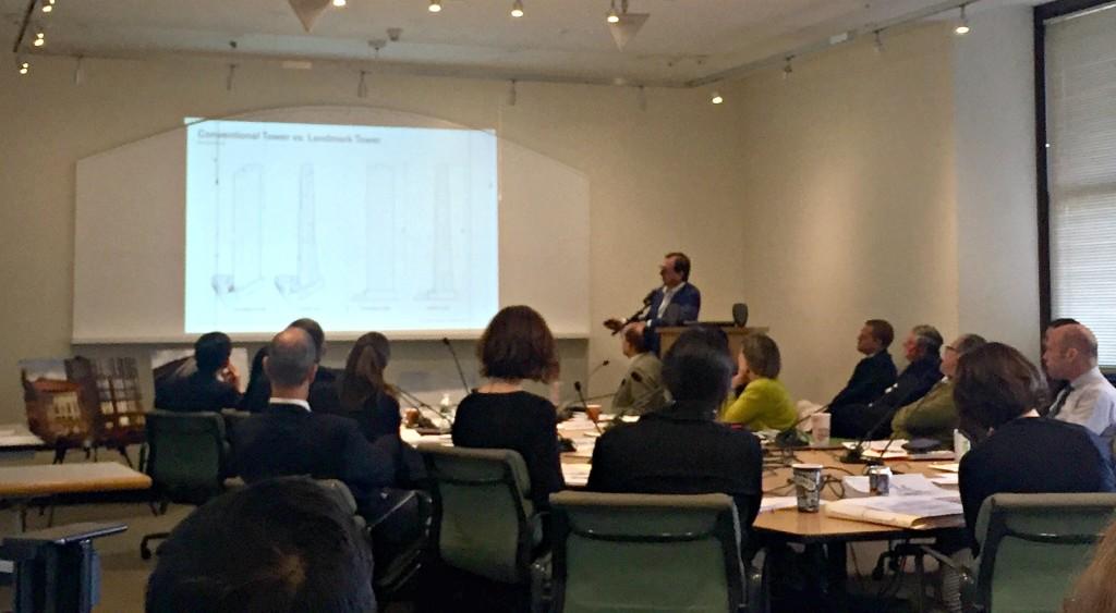 SHoP Architects, Dime Savings Bank, LPC presentations, Landmarks Preservation Commission