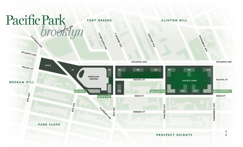 pacific park brooklyn site plan