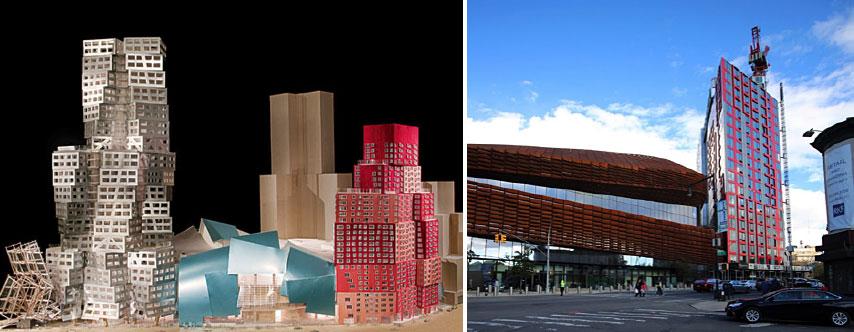 barclays center frank Gehry design