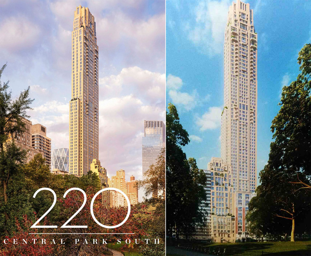 Robert A M Stern S 220 Central Park South Gets Stoned