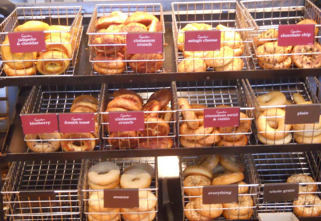 bagel display 2