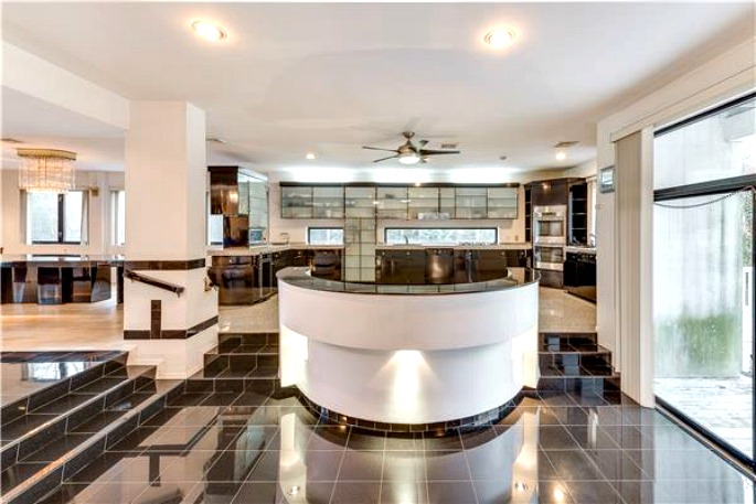 Post Modern Bronx Mansion With 35 Foot Atrium And 10