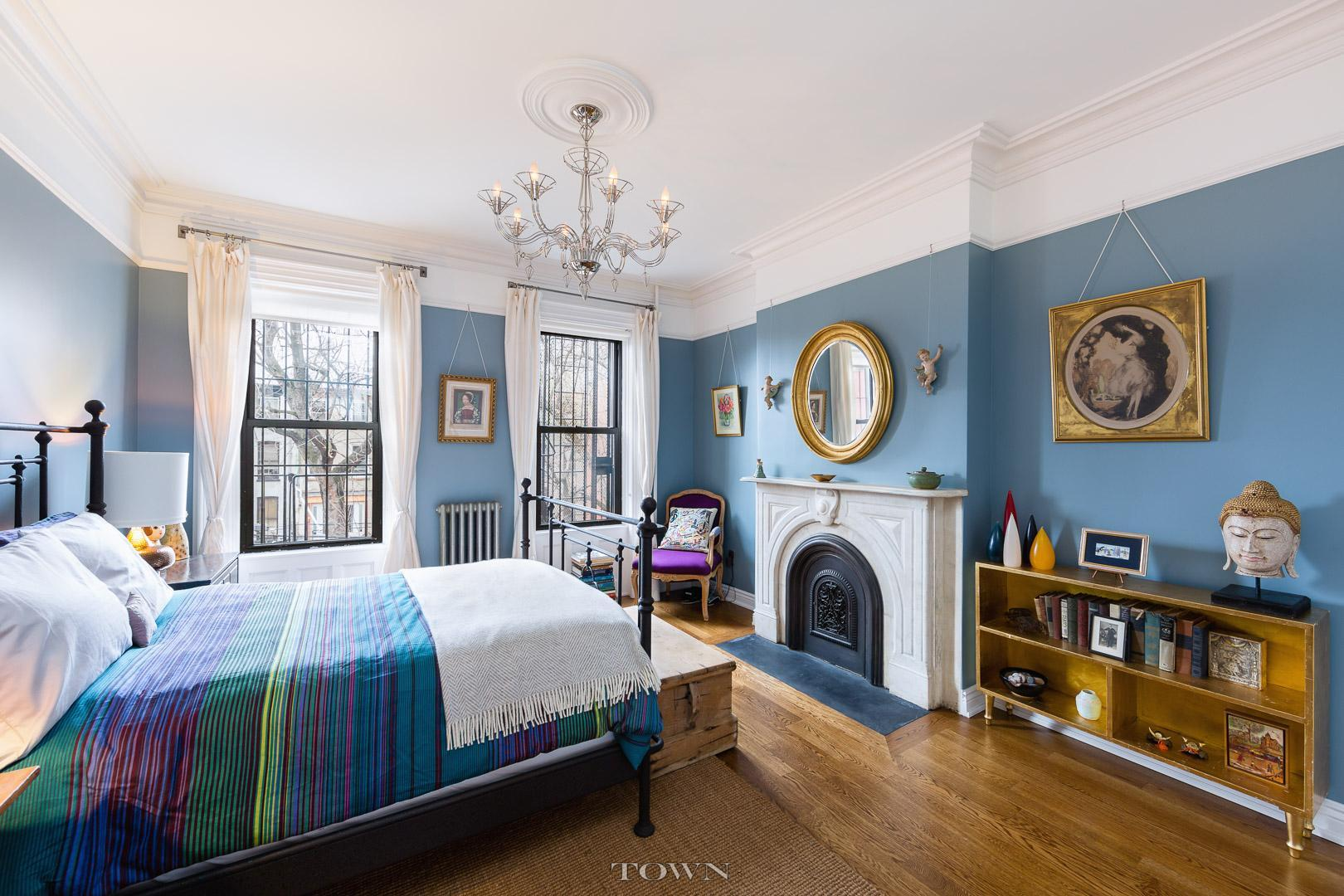 17 madison street, bedroom, bed-stuy, townhouse