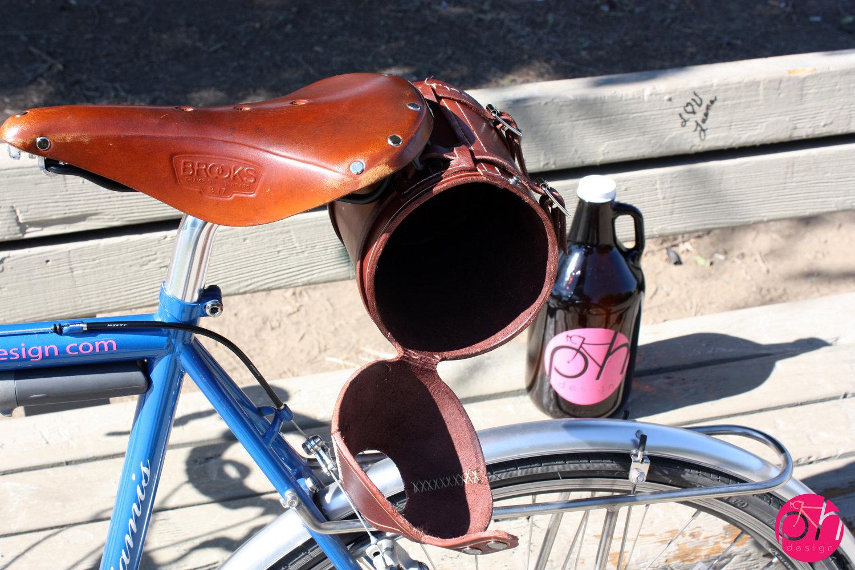 bike growler, pedal happy designs