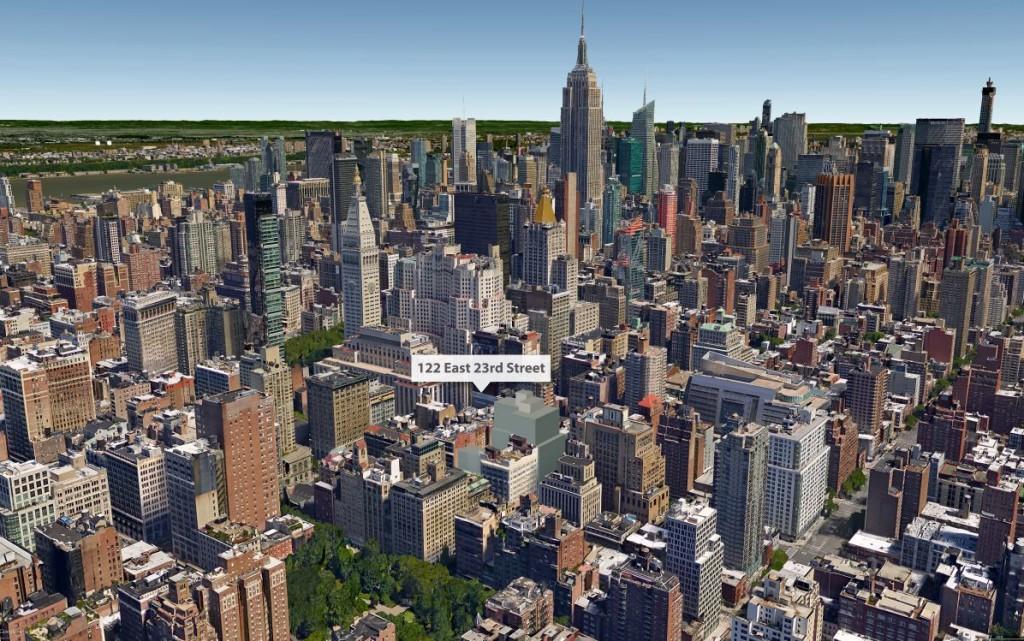 122 East 23rd Street, Rem Koolhaas, Toll Brothers, Gramercy development