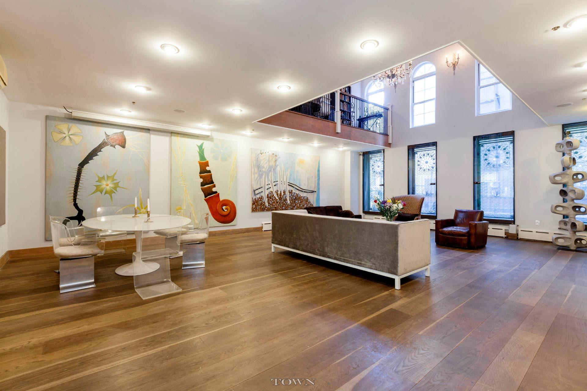 12 Avenue A, duplex, rental, east village, dining room