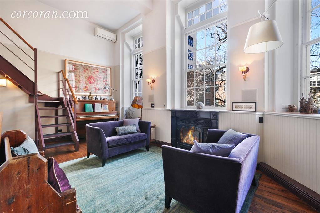 condo, soho, 29 king street, living room