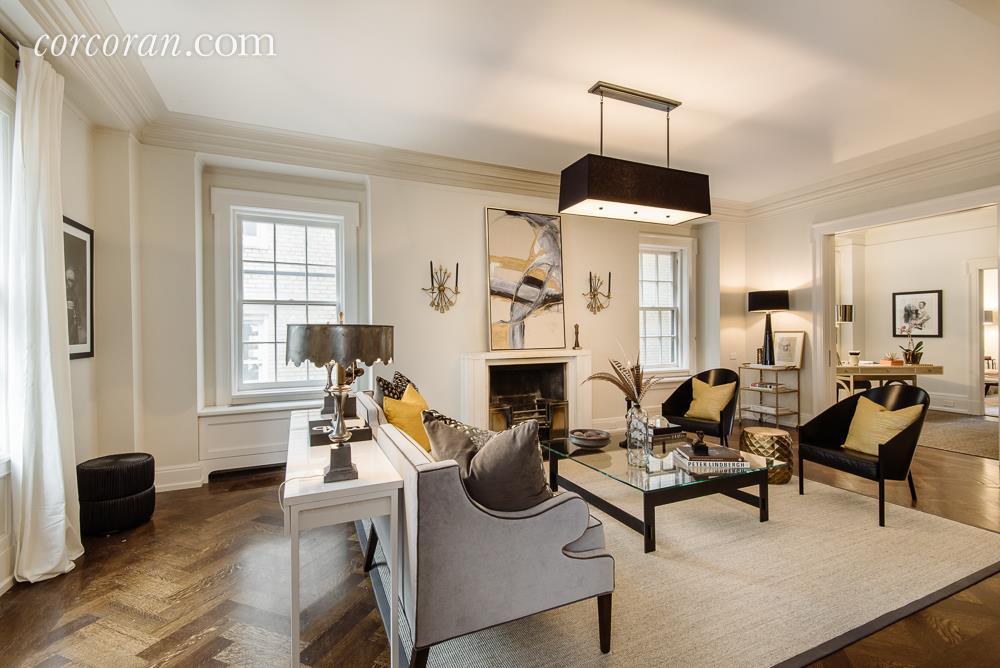 1 Lexington Avenue, Gramercy, Gramercy Park, Uma Thurman, Ethan Hawke, Celebrities, Celebrity Real Estate, 435 East 52nd Street, River House, Manhattan Co-op for sale, renovation, interiors