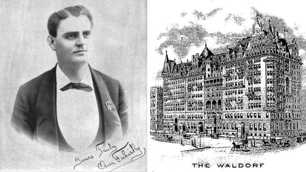 Oscar Tschirky, The Waldorf Hotel
