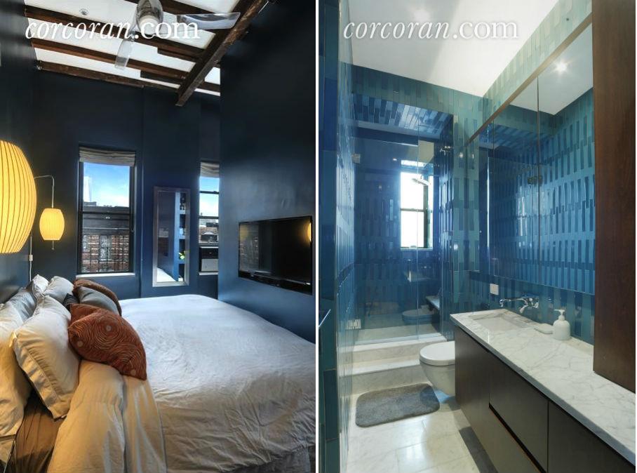 124 thompson, soho, co-op, bedroom, bathroom