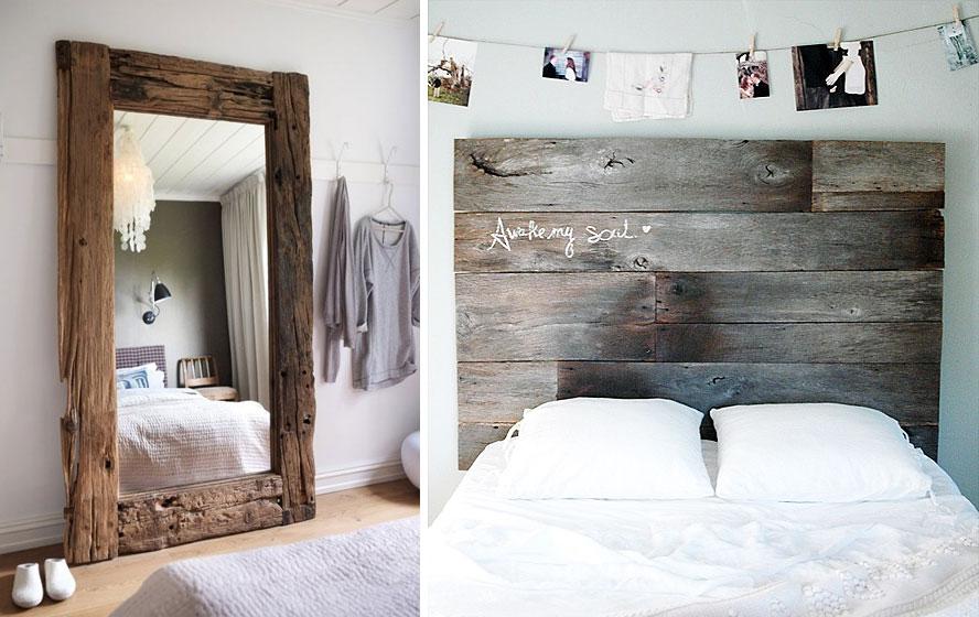 reclaimed wood interiors