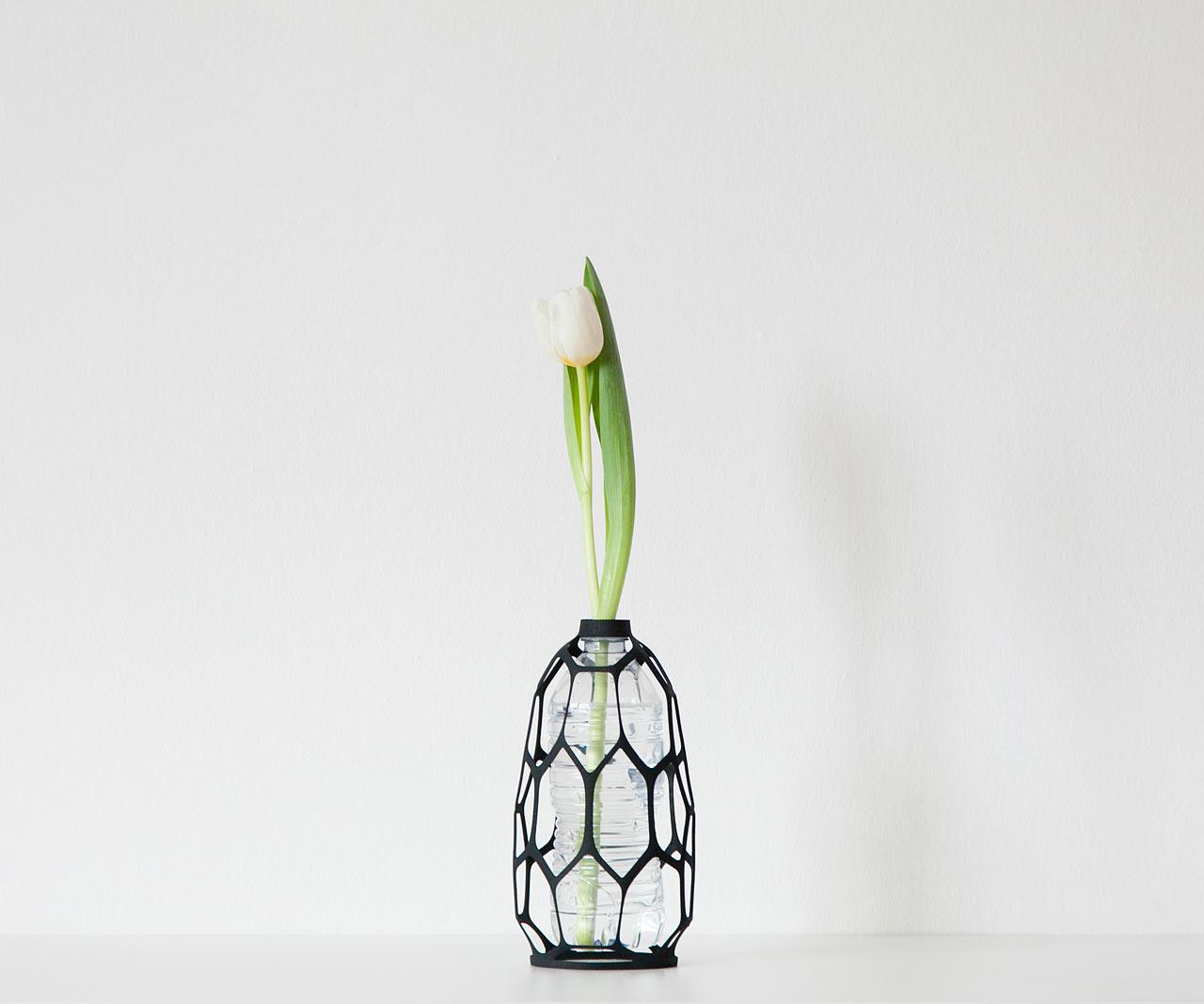 Libero Rutilo, 3D printed vases, PET bottles