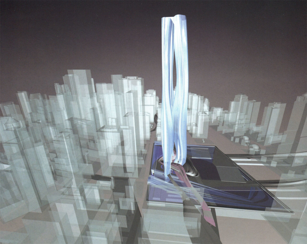 World Trade Center Bundle Towers, Zaha Hadid, Rising to Greatness competition