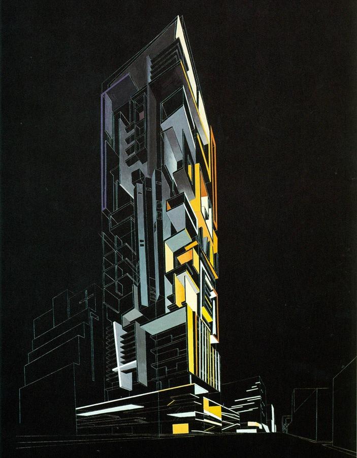 42nd Street Hotel Competition, Zaha Hadid