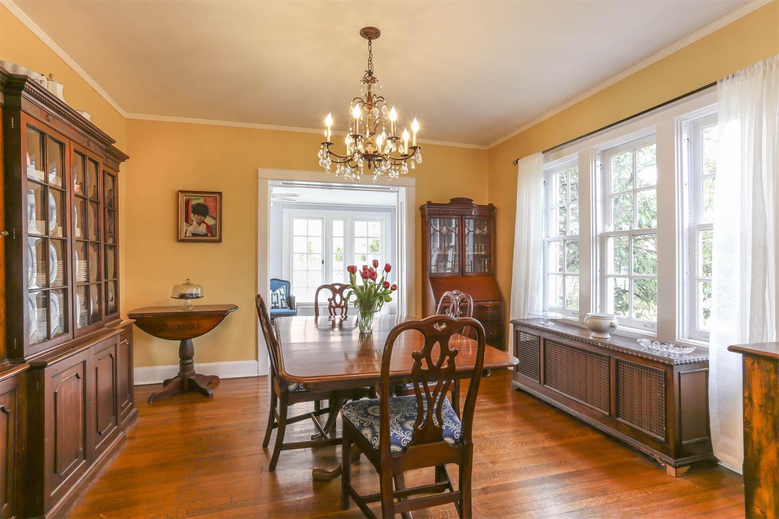 63 wendover, dining room, forest hills garden