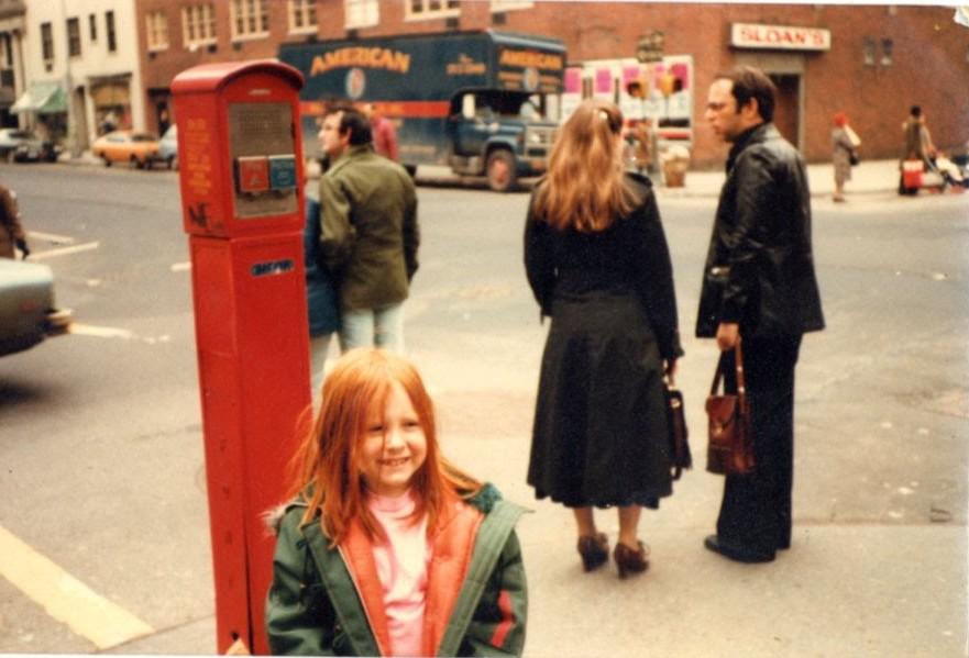 Anna Fader, Mommy Poppins, Greenwich Village 1970s