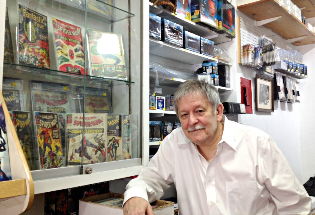 Alex's MVP, Alex Gregg, NYC comic book stores, NYC sports card stores, Yorkville businesses
