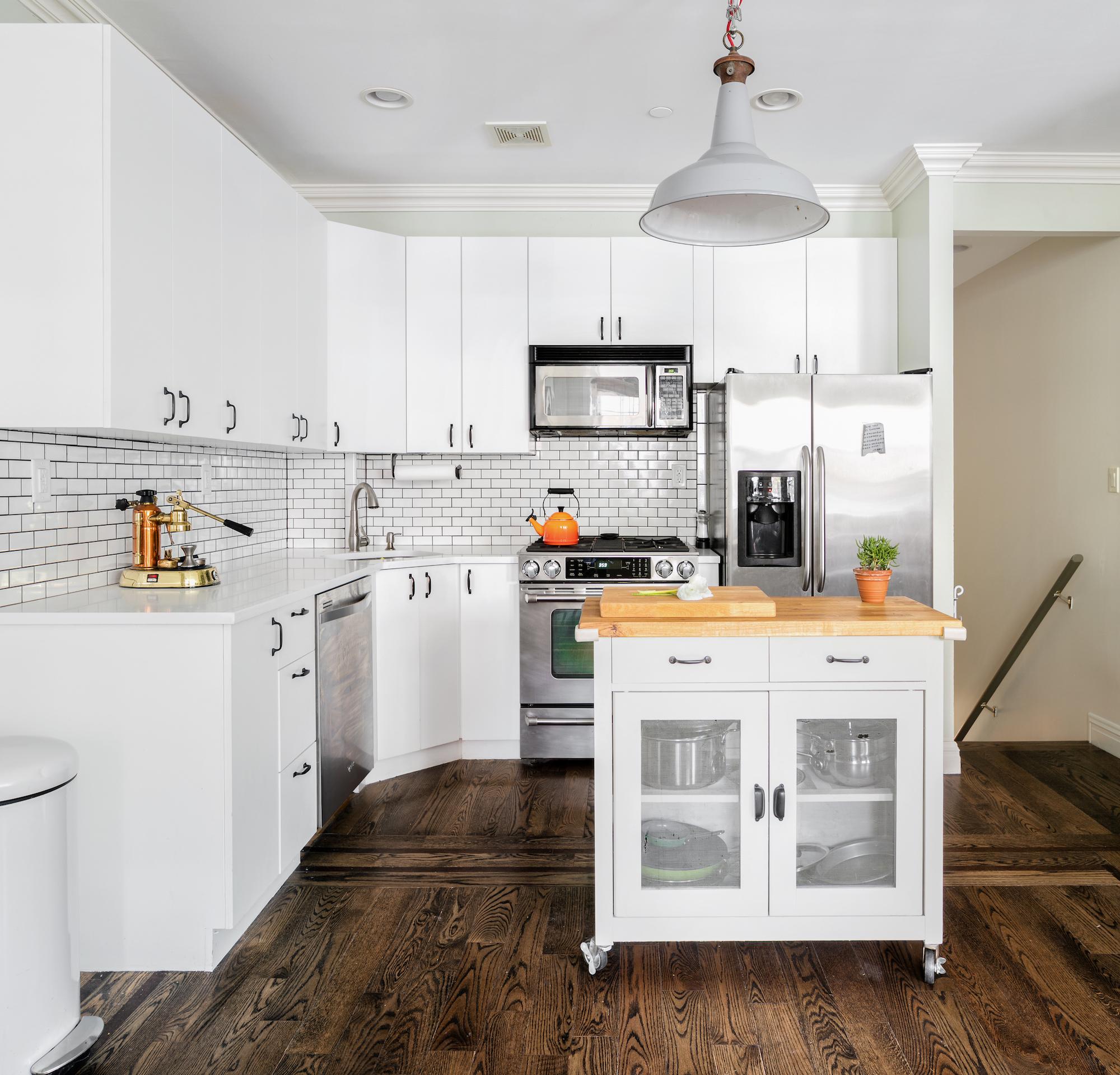 687 Leonard Street Kitchen