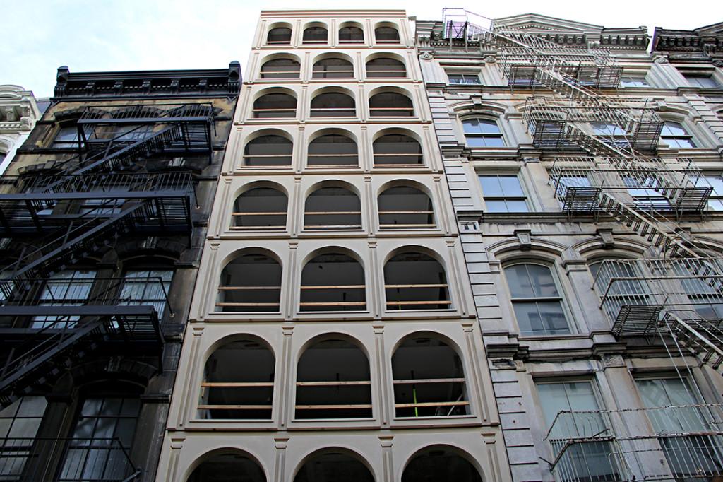 Tribeca condos, Morris Admi Architects