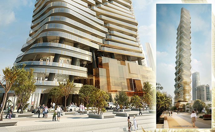 Surfers Paradise Tower planned for the Gold Coast in Australia