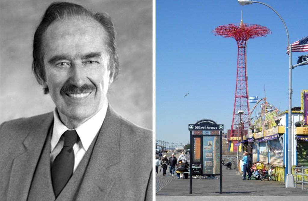 Coney Island Parachute Jump, Fred Trump